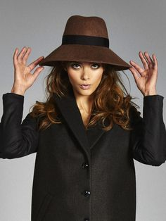 The COLE Felt Hat in Cognac #VauteCouture Ethical fashion $120