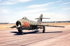 This former Egyptian Air Force Mikoyan-Gurevivch MiG-17F in the collection of the National Museum of the United States Air Force is painted in the colors of the Vietnam Peoples' Air Force. (U.S. Air Force)