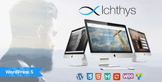 Ichthys - Church WordPress Theme Want to create an incredible church or non-profit website? Sick of testing and evaluating themes? Choose the ONE completely versatile theme you can use to create the website you need. Permanently u. Ichthys, Amazing Websites, Church Sermon, Charity Organizations, Church Events, 1 Live, Themes Free, Event Page, Sale Banner