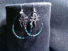 Twin Lizard Earrings
