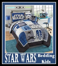 Star Wars Bedding for Kids #StarWars #StarWarsMovie #Bedding