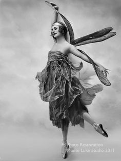 Anna Pavlova Dragonfly,... It's not really a contest.  We are really just having a party.