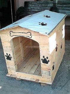A dog house is one of the most common things that people want to have in their houses. A dog needs its space and a wooden dog house is just the perfect thing that you can have and make for your dog. You can find the perfect quality of wood and make your own dog house.