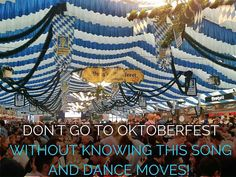 Each year there is a new hit Oktoberfest song.  It's usually a German dance song that has been adapted for Oktoberfest.  But there's always the oldies but goodies.   My favorite Oktoberfest song without a doubt is Fliegerlied (So ein schöner Tag)! The lyrics are