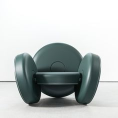 Whirl By Matter Designer: Ian Stell  Three freely functioning wheels are adapted to become the only vertical members of a chair. The orientation of these wheels keep it from moving in any other direction besides a perfect circle.