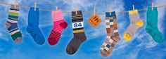 Dore Dore 1819 - www.dore-dore.fr - Discover the new Spring/Summer collection of Dore Dore socks for children - Colored socks in soft cotton and cotton lisle.