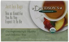 Davidson's Tea Decaffeinated Green, 100-Count Tea Bags >>> More info could be found at the image url.