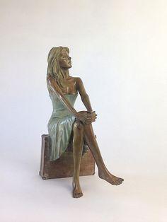 Les sculptures en bronze d'Alain Choisnet - Emma Bronze Sculpture, Some Pictures, Les Oeuvres, Statue, Artwork, Fictional Characters, Ceramics, Cool Art, Creativity