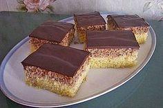 Haselnuss - Schnitten, ein beliebtes Rezept aus der Kategorie Kuchen. Bewertungen: 224. Durchschnitt: Ø 4,6.