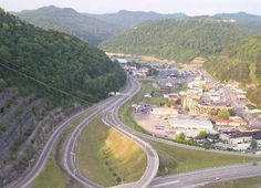 Pikeville Cut Through-The largest earth excavation to be done by the USA, except for the building of the Panama Canal.