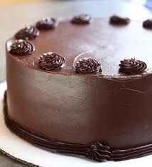 Chocolate layer cake, my favorite!