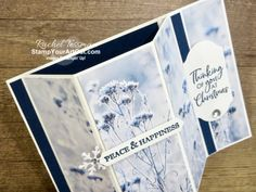 November 2019 - Stamp Your Art Out! Fancy Fold Cards, Folded Cards, Online Paper, Window Cards, Card Patterns, Card Tutorials, Maria Taylor, Christmas Makes, Bay Window