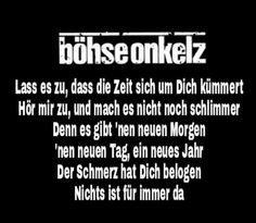 Lied Nichs Ist Fur Immer Da Musik Song Zitate Bohse Onkelz
