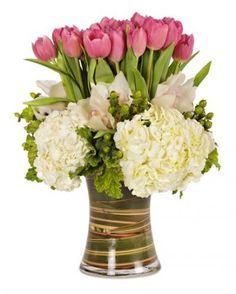 Fresh125.00Love Pink - Arrangements - Los Angeles Florist tic-tock Couture Florals | Voted Best Florist in Los Angeles