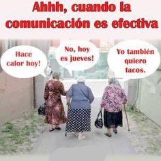 〽️ Ahhh cuando la comunicación es efectiva