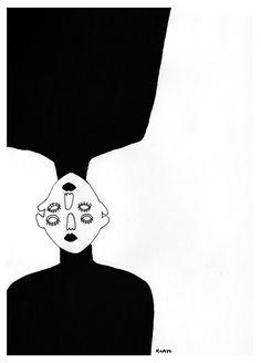 M Vegan Coleslaw vegan coleslaw apple cider vinegar Kunst Inspo, Art Inspo, Art And Illustration, Art Sketches, Art Drawings, Illustrator, Desenho Tattoo, Art Hoe, Psychedelic Art