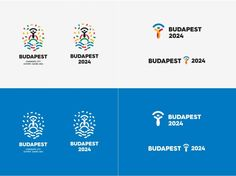 As you probably know, cities vying for the right to host the Olympics must meet a wide range of criteria, including the development of a graphical program that includes a logo. There are four cities in the running for the 2024 Olympics: Los Angeles, Paris, Rome and Budapest. The first three of these revealed their logos earlier, as shown below.
