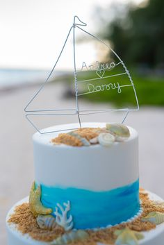 Thank you Andrea for sharing this photo of your lovely wedding cake featuring our custom sailboat wedding cake topper. Click image to see listing on Etsy. Wedding Cake Toppers, Wedding Cakes, Sailboat, Wedding Planning, Birthday Cake, Desserts, Etsy, Image, Food