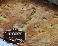 Side Dish Recipe: Corn Pudding Recipe #comfortfood #recipes