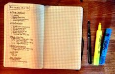 Getting things done: how I take notes + snapshots of my moleskine + my nerdy highlighter system