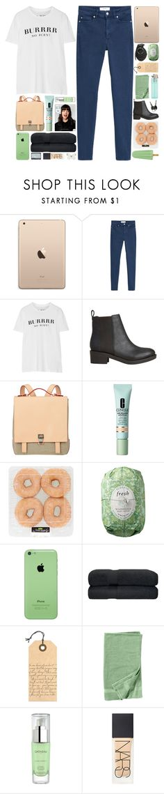 """burrrr"" by she-never-falls-in-love ❤ liked on Polyvore featuring MANGO, Brian Lichtenberg, Lipstik, Proenza Schouler, Clinique, Fresh, Tag, Nordstrom, Gatineau and NARS Cosmetics"
