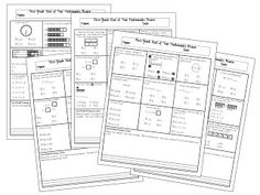 5 days of Common Core Aligned Mathematics Review for First Grade. FREE from My Little Classity Class.