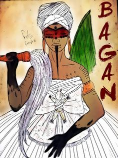 Os Mistérios da África: OYA BAGAN.
