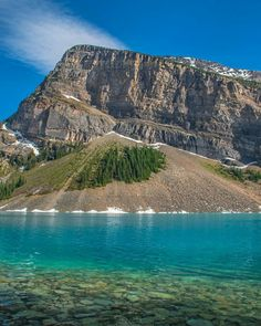 Lake Louise, Alberta, Canada (Photo credit to IG rockymountaineerscrambler) & Photography Lake Louise Alberta Canada, Wild Nature, Nature Images, Photo Credit, Sunrise, The Past, Awesome, Water