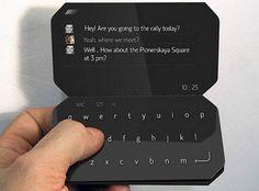 Un concept étonnant de smartphone pliant