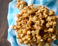 This caramel corn is everything that gooey caramel corn should it.