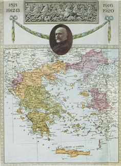 Greece map 1920
