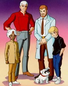 Hanna Barbera Cartoon: Jonny Quest and the gang