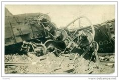 RP: Train Wreck, Walhalla , South Carolina, May 37th 1913 - Delcampe.com
