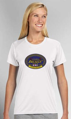 USS Harry S. Truman White Ladies T-Shirt now available! Show your Navy Service pride with this White Ladies' Performance Short Sleeve Shirt. This performance shirt features 100% Polyester antimicrobial, moisture wicking fabric that will keep you cool, dry, and comfortable. THIS IS A PERFORMANCE FABRIC SHIRT, NOT COTTON. Designed, Printed & Sublimated in the USA -Fabric Imported.