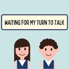 Boom Cards - Social Story: Waiting for my turn to talk K 1, Social Stories, Wait For Me, Social Skills, Speech Therapy, Special Education, Waiting, Author, Activities