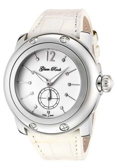 Price:$291.25 #watches Glam Rock GRD10005, Add an understated look to your outfit with this unique and detailed Glam Rock watch.