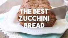 BEST EVER ZUCCHINI BREAD RECIPE - Butter with a Side of Bread Zucchini Bread Recipes, Quick Bread Recipes, Cooking Recipes, Zucchini Banana Bread, Best Bread Recipe, Large Bowl, Vegan Dishes, Brunch Recipes, Fun Desserts