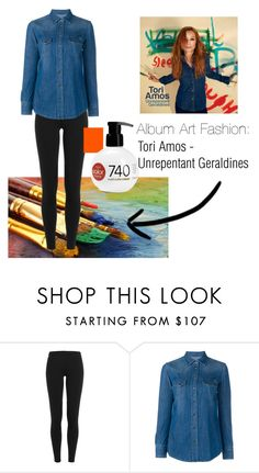 """""""Album Art Fashion: Unrepentant Geraldines"""" by everythinginitsrightplace ❤ liked on Polyvore featuring Polo Ralph Lauren, Dolce&Gabbana, Revlon, music and iconic"""