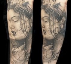 Portrait Tattoo  Tattoo by Miro