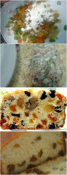 Bolo inglês com frutas cristalizadas, Original E Fácil!! VEJA AQUI>>>Bolo inglês com frutas cristalizadas, Original E Fácil!! #receita#bolo#torta#doce#sobremesa#aniversario#pudim#mousse#pave#Cheesecake#chocolate#confeitaria
