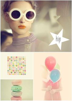 the project pastel board was created for the Hip Pastels blog post