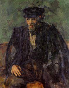 Paul Cézanne, Paul Gauguin, Renoir, Paul Cezanne Artwork, Cezanne Portraits, Canvas Art Prints, Oil On Canvas, Oil Painting Reproductions, Medium