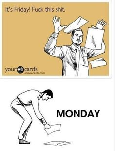 It's Friday! So ignore the bottom panel. Until Monday.