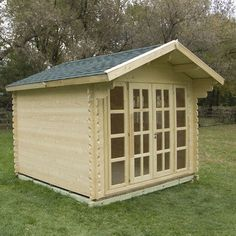 solidbuild brighton 10 ft w x 10 ft d solid wood garden shed