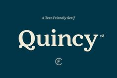 The Quincy Typeface available in our super bundle of 40 fonts
