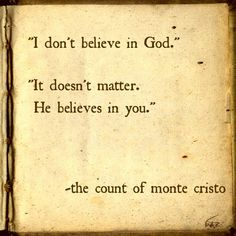 The Count of Monte Cristo: favorite book i was ever forced to read in english!