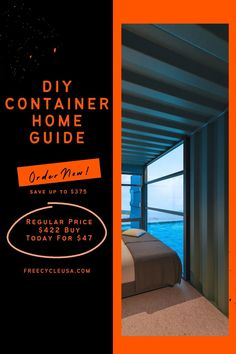 Get our Shipping Container Home Guide Today for $47 and Save $375 Now. #freecycleusa #containerhome #shippingcontainer Shipping Container House Plans, Make It Simple, How To Plan, Building, Buildings, Construction