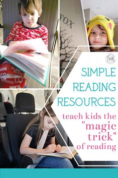 Simple Reading Resources for early elementary.  What worked for this mom