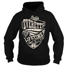 Cool Team EVERETTS Lifetime Member (Dragon) - Last Name, Surname T-Shirt Shirts & Tees