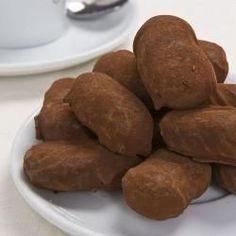 Slagroom truffels @ allrecipes.nl